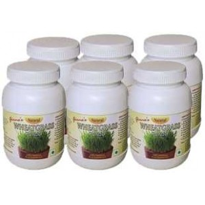 Organic Wheatgrass Powder - Pack of 6 Bottles - Free Delivery