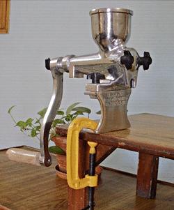 How to make Wheatgrass Juice - Addy Wheatgrass Manual Juicer