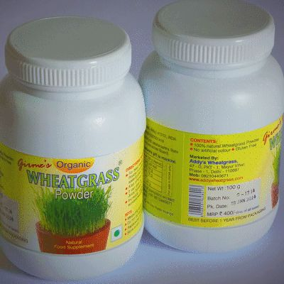 Girmes Organic Certified Wheatgrass Powder